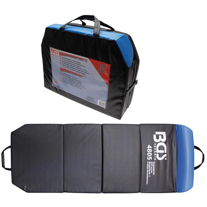 273ca898 Mechanic beskyttelse matte - 1200 x 435 x 35 mm - sammenleggbar
