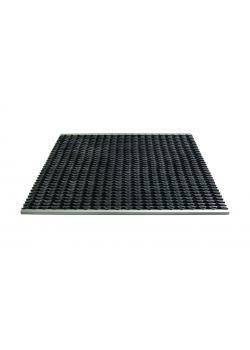 Schmutzfangmatte Kobe ™ - 22mm tjocklek - aluminium och gummi