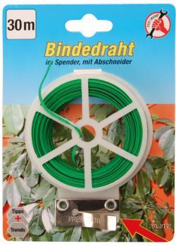 Bindedraht - im Spender - Länge 30 m - Kunststoff beschichtet