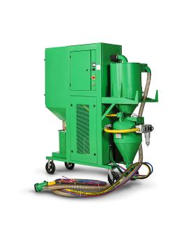 BRS-5 Dust-free blasting and recovery system - 1800 x 550 x 2050 mm - Connection 5.5 kW - Voltage 380 V