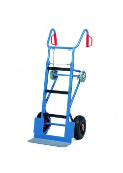 Machinery handtruck - 400 kg - heavy truck - with pneumatic wheels