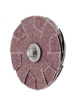 Schleifkissen - PFERD KS 50-4 A 80 - Durchmesser 50 mm - Korngröße 80 - VE 20 Stück - Preis per VE