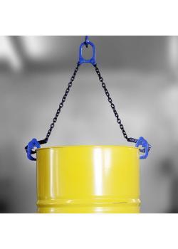 Fasshebeklemme PLANETA DL - Greifbereich 0 bis 30 mm - Tragfähigkeit 500 kg bis 1 t