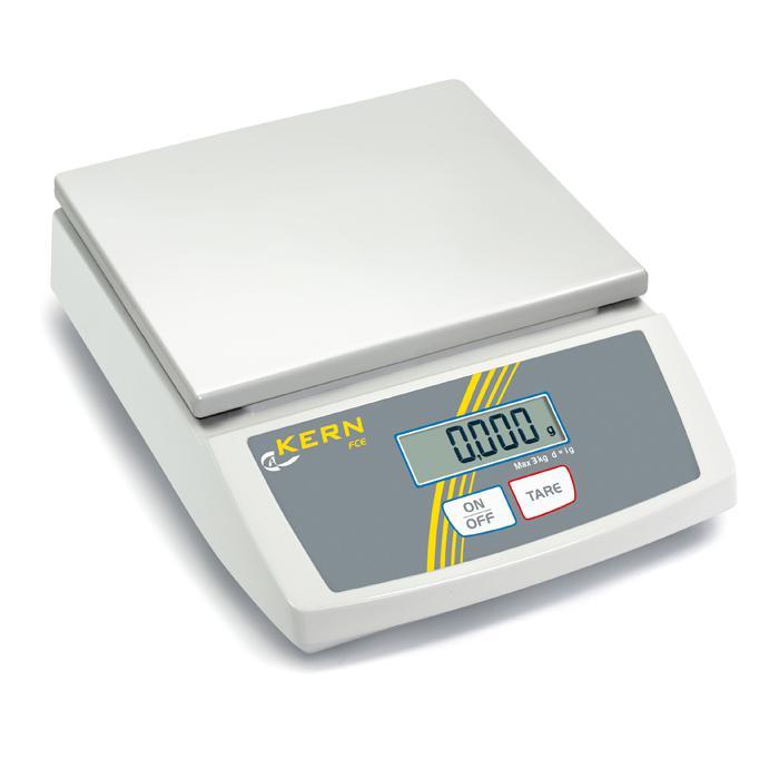 Waage - max. Wägebereich 3 bis 15 kg - einfach bedienbares Einsteigermodell
