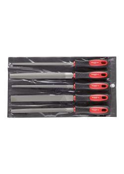 GEDORE red Feilensatz - mit 2 Komponenten-Griff - 5-teilig