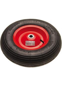 Schubkarrenrad - mit Luftschlauch - max. Belastbarkeit 150 Kg - 400 mm
