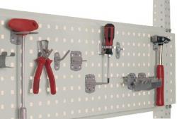 """Verktygspanel 350 mm - för arbetsplatssystem """"Universal"""" - ljusgrå"""