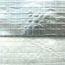 Aluminiumfolie 0,018 mm - vävförstärkt - rullbredd 1000 mm