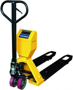 GHW2K pallet truck scales - 2000kg - with pallet truck