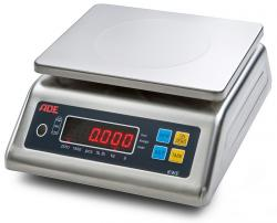 Food Scale KWE - Measuring Range 15kg - Complete Stainless Steel