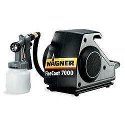 Niskie ciśnienie powietrza opryskiwaczy - Wagner FineCoat FC 7000 S Spraypack - 230V - 0.35B