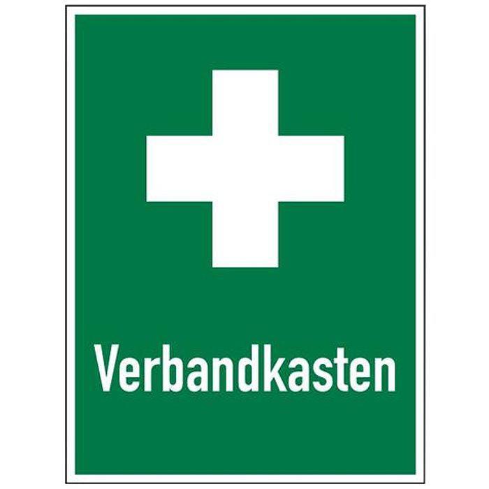 """Rettungszeichen """"Verbandkasten"""" - Seitenlänge 5-40 cm"""