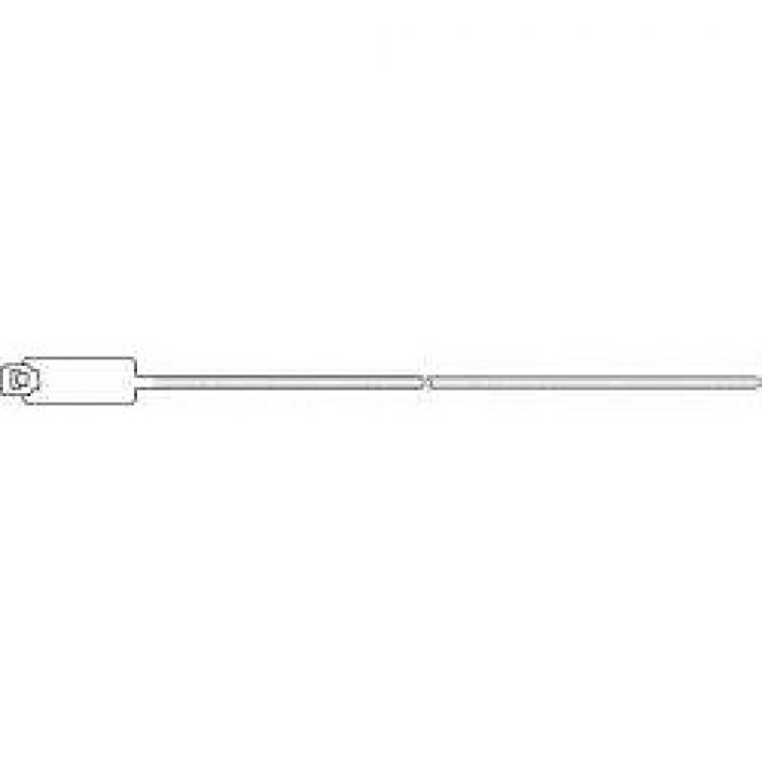 Kabelbinder PA mit Kennzeichnungsschild in Binderichtung