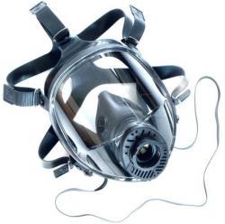 Helmask - Vista-pro CL 3 - normaltryckutförande - svart - EN 136