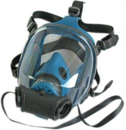 Helmask - Vista-pro DUPLA CL 2 - normaltryckutförande - blå - EN 136