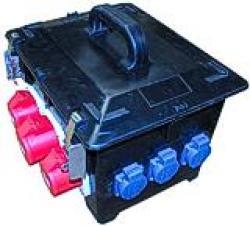 Vollgummi-Verteiler - Typ 2 - spritzwassergeschützt