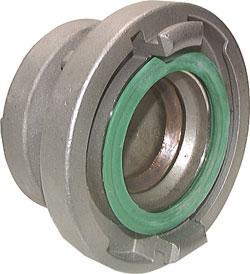 Storz-Übergangsstück Messing / NBR Baugröße 75-B/65
