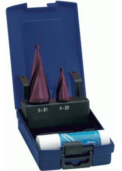 Plåthålborr i set - borrområde 4-31 mm - TiAlN-belagd