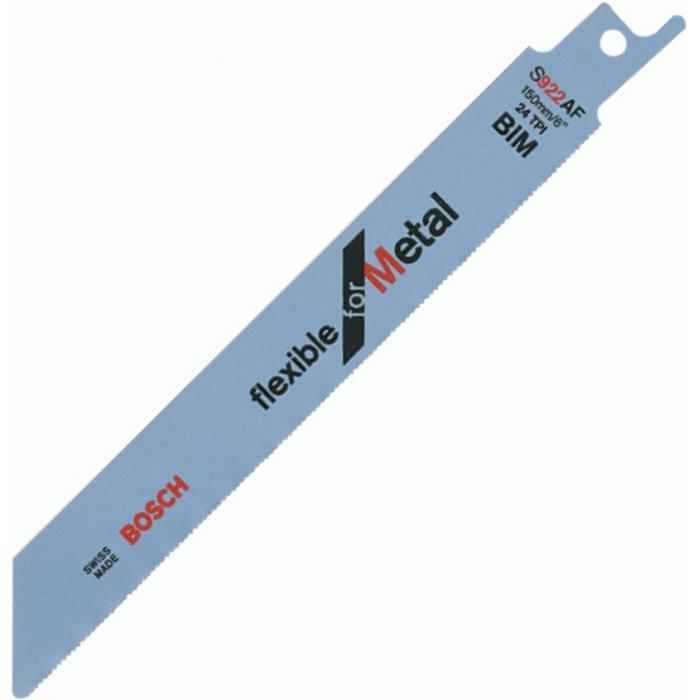 Säbelsägeblatt - BIM - Schnittlänge 100 mm bis 225 mm - Bosch - VE 5 Stück