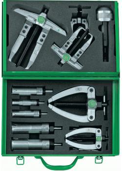Kugellager-Ab- und Auszieher-Satz - Modell 24-C - in Metallkasten - Kukko