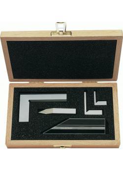 Präzisions-Messzeugsatz - 5-teilig - komplett im Holzetui