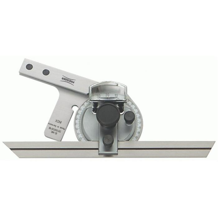 Winkelmesser - universal - rostfreier Stahl - Parallaxfreie Ablesung