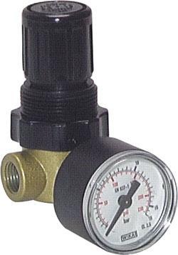 Soupape de limitation de pression - zinc - max 300 l/min - 0,1-10 bar