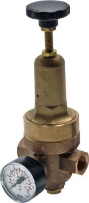 """Régulateur haute pression  - max 40 bar - plage de réglage de 1,5 à 20 bar - laiton - G 1/4""""-2"""""""