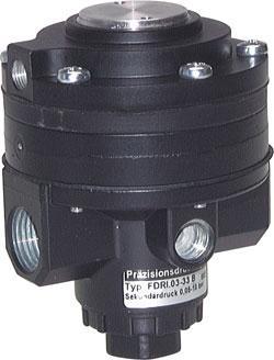 """Microrégulateur de précision -  0,05-10 bar - G 1/2"""" -  zinc coulé sous pression"""