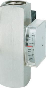 """Gennemstrømningsmåler og  strømningsvagt - op til 300 bar - IG 1""""- viskositetskompenseret"""