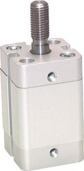 Kurzhubzylinder - doppeltwirkend - Kolben 12-100 mm - mit Außengewinde