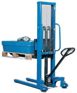 Forklifter With 3-Fold Safety Shaft - Stroke Up To 1500 mm - Lifting Capacity Up