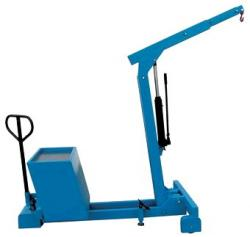 Mobile Counter Balance Crane - Lifting Capacity Up To 550 kg