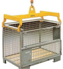 Travers för gallerboxar - max. 2 ton