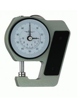 Taschen-Dickenmessgerät - Aluminum - Messbereich 0-10 mm