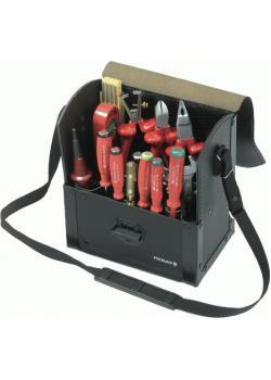 """Werkzeugtasche - leer Top-Line - """"Parat"""" - mit Werkzeughalterungen 220x140x250mm"""