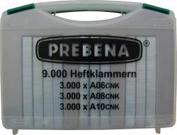 Heftklammern - Type A - 9000 Stk. - Handwerker-Koffer