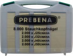 Stauchkopfnägel - Type J - 8000 Stk. - Handwerker-Koffer