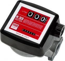 Compteur pour Diesel, biodiesel et mazout - 20-120l/min - 10 bar