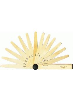 """Spessimetro di precisione - MS - campo di misura 0,05 fino 1 mm - lamine 20 - """"FORUM"""""""