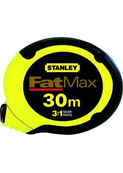 """Case band """"Fat Max"""" - längd upp till 30m - bandbredd 10mm - STANLEY"""