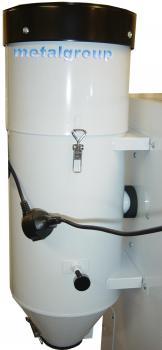 Elektrische Absaugeinheit Standard - Leistung 1100 W - Behältergröße 20 Liter - Gewicht 25 kg