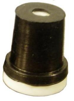 Reservmunstycke för blästerkabinpistoler - keramik - 2,4-3,6 mm