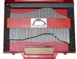 Konturenschablone mit Stahlnadeln - im Koffer - 400/1000mm