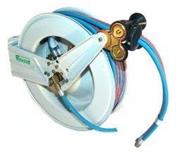 Auto. Schlauchaufroller für Sauerstoff/Gas  OSM410
