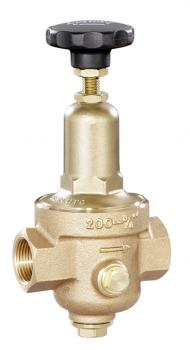 """Pressure Regulating Valve For Compressed Air And Gases - Red Brass - G 1/4"""" To G"""