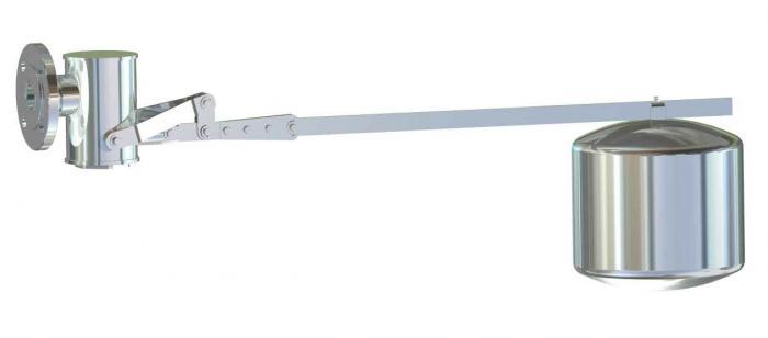 Rohrleitungs-Schwimmerventil - Typ ESV 80 F/G - Edelstahl - für große und mittelgroße Behälter - Berluto