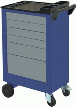 Wózki warsztatowe - 6 szuflad - zamykany
