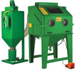 Blästerskåp ECO-120SL - 1150x920x860 mm - sugande bläster - stor dammsamlare