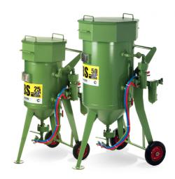 Blasting pot DBS-25 RC - 25 liters volume - with pneumatic remote control